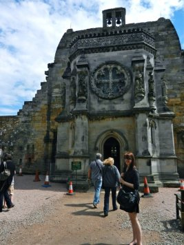 Rosslyn Chapel, Roslin, Scotland 2011