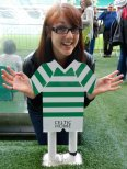 Celtics F.C. pitch, Glasgow, Scotland