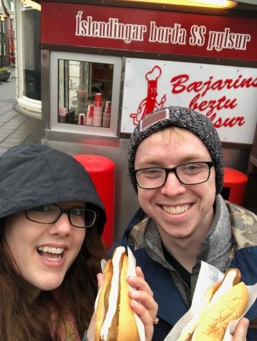 Classic Icelandic hotdogs from Bæjarins Beztu Pylsur
