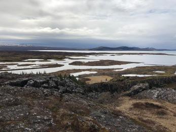 View of Þingvellir National Park, Iceland