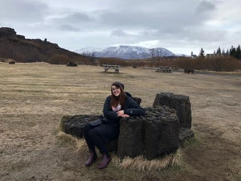Casual Þingvellir National Park View, Iceland