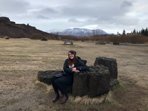 Casual Þingvellir National Park View, Iceland