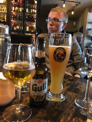 Icelandic beers, including Gull