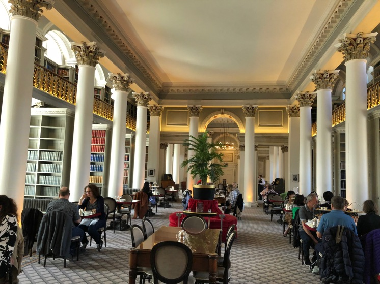The Colonnades at Signet Library, Edinburgh, Scotland