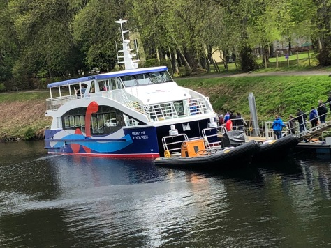 The Spirit of Lock Ness, Fort Augustus, Scotland
