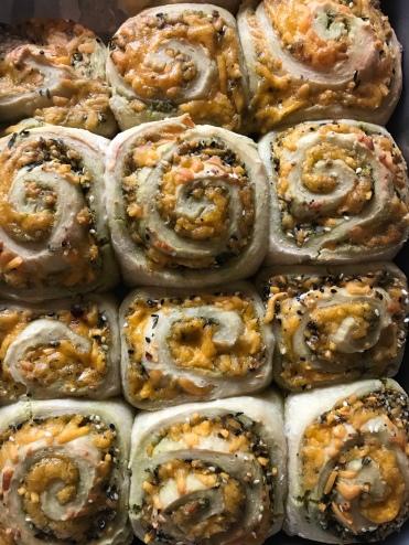 Casie's swirl buns